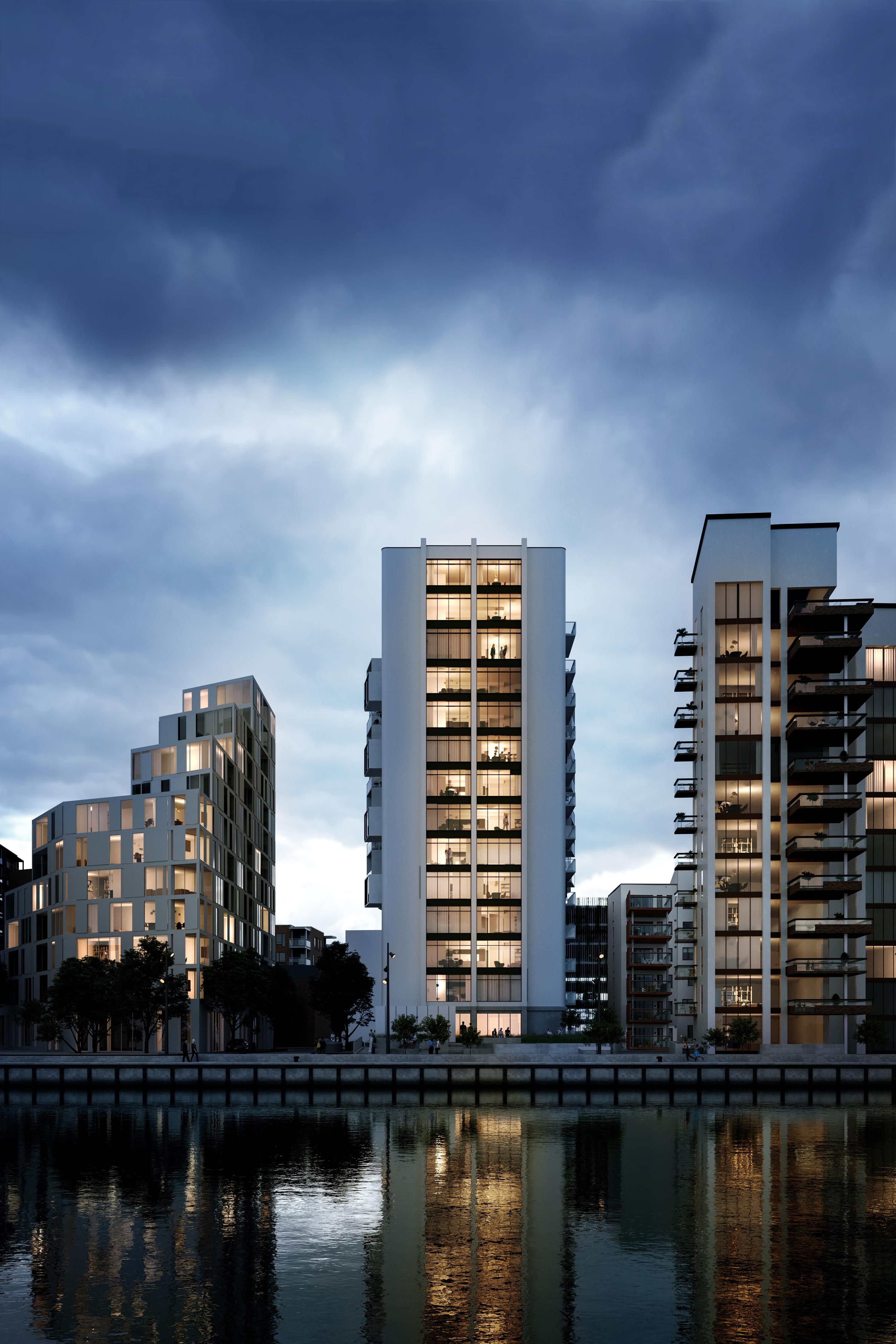Aalborg i nye højder: Her er de kommende højhuse