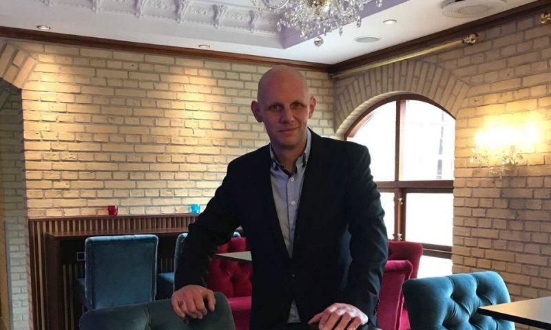 Direktør på Hotel Amerika, Peter Lyngby Hansen