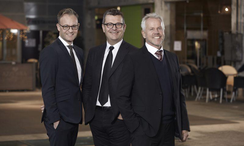 Fra venstre: Mattias Manstrup, Kim Jacobsen og Steen Royberg