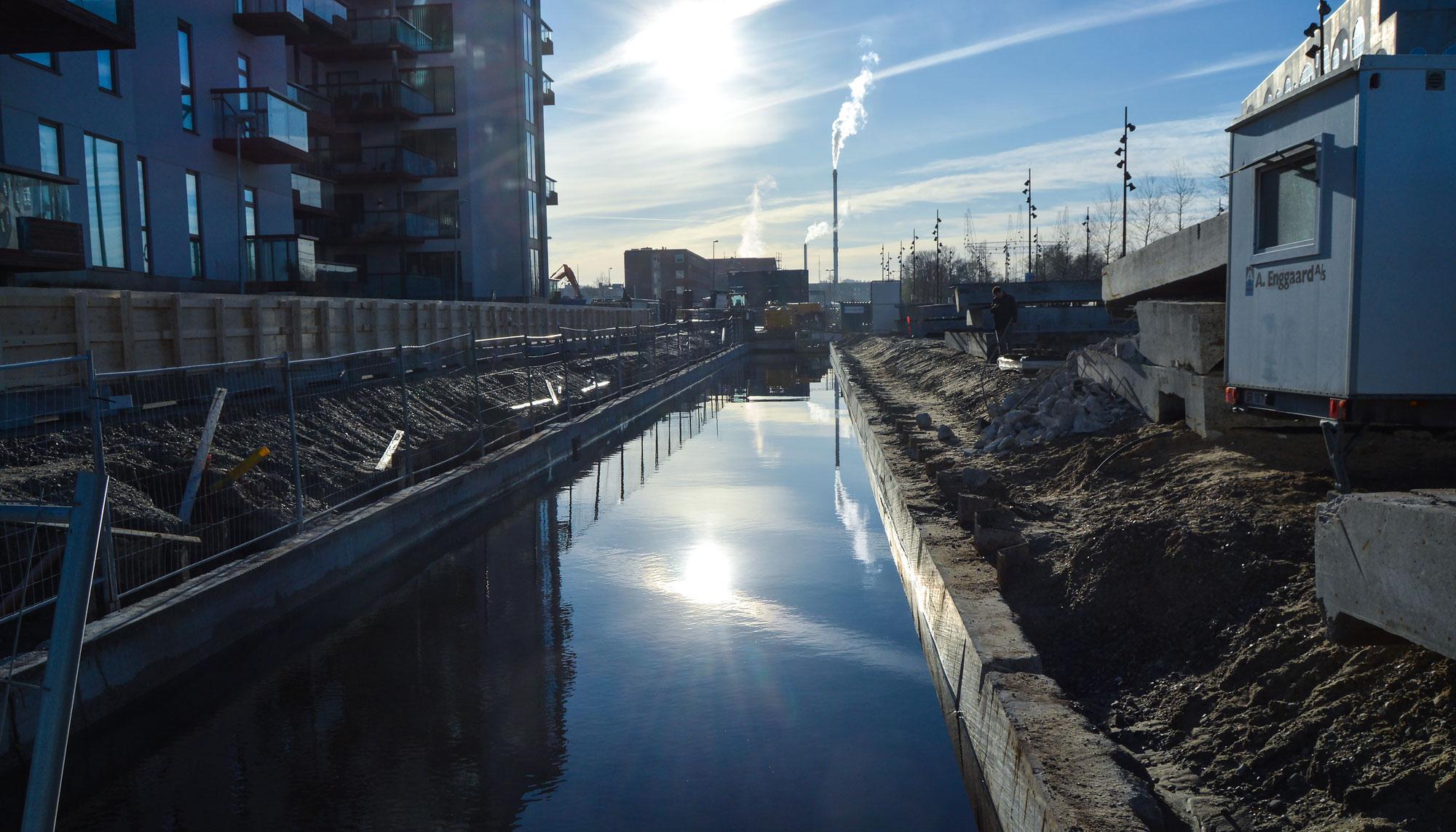 En helt ny park: Nu skal Østerå-kanalen åbnes i Karolinelund