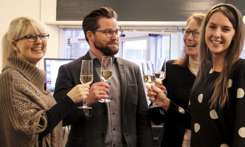 Der har været god grund til at skåle i champagne hos AKKC og for direktør Nicolaj Holm