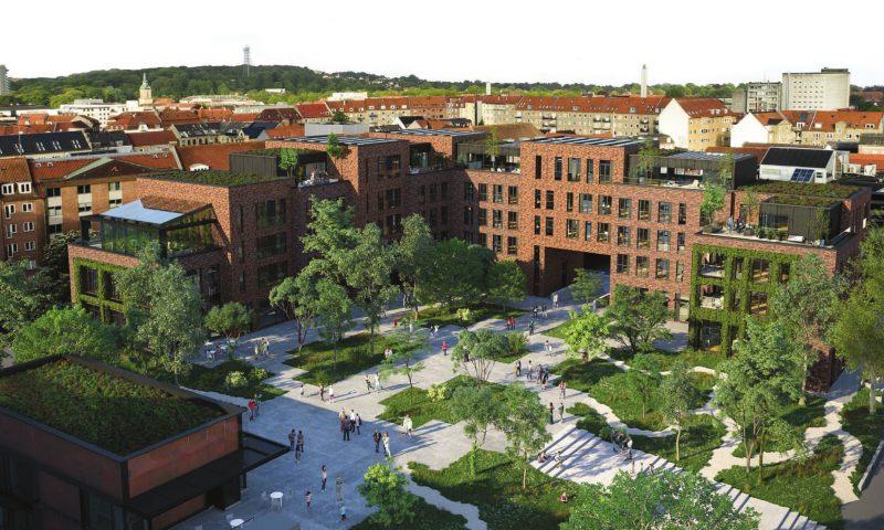 Visualisering af Budolfi Plads
