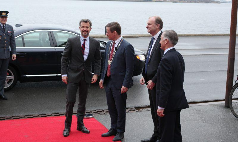 Aalborg borgmester bød Kronprinsen velkommen