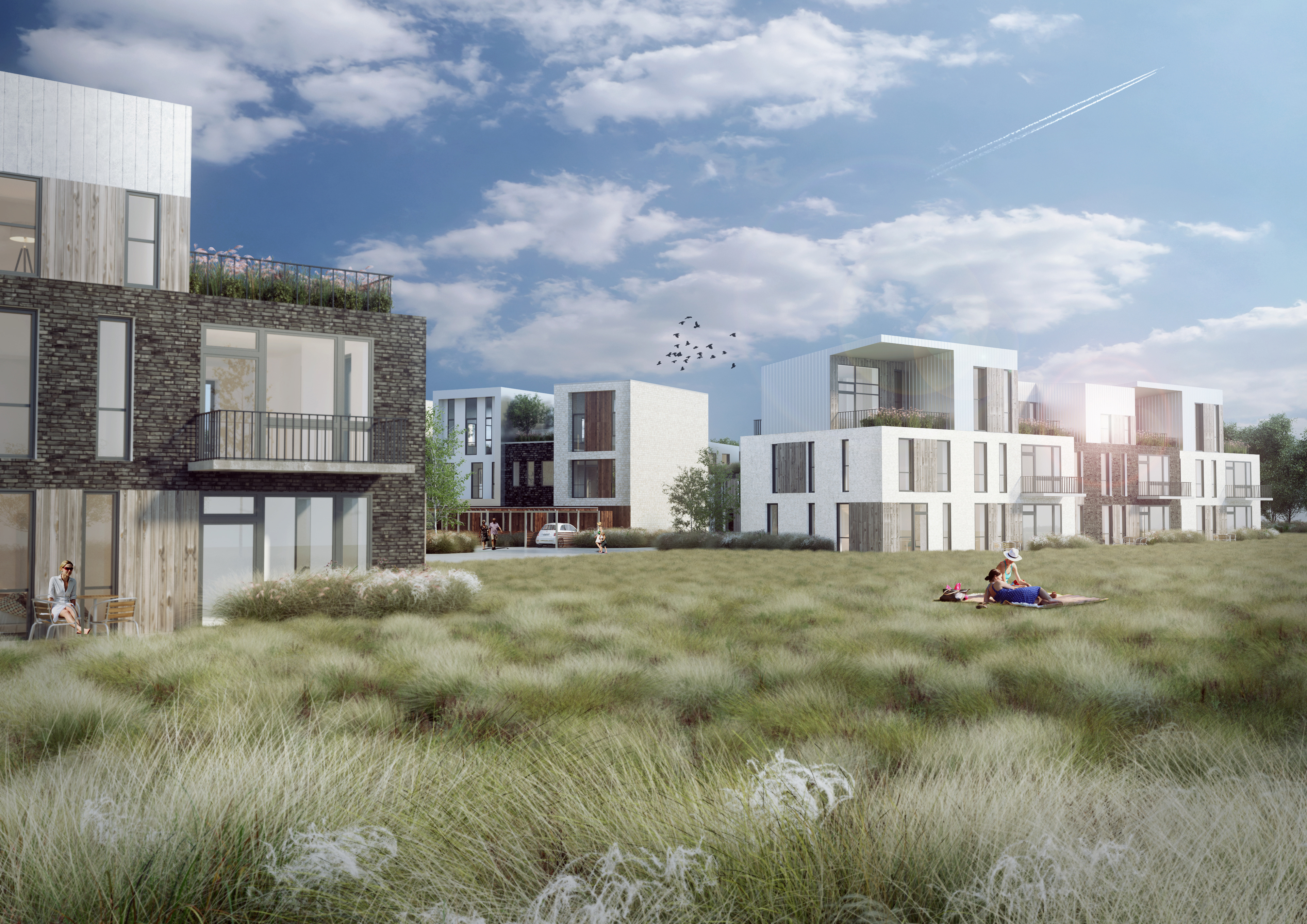 Over 120 boliger er udlejet i Sofiendalen: Hør om området fra en af beboerne her