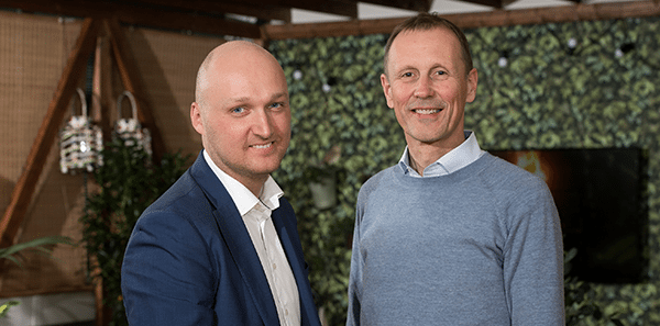 Jonas Berntsen og Michael Gram står i spidsen for fremadstormende MapsPeople