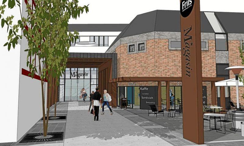 På den anden side af Friis åbner Magasin en café