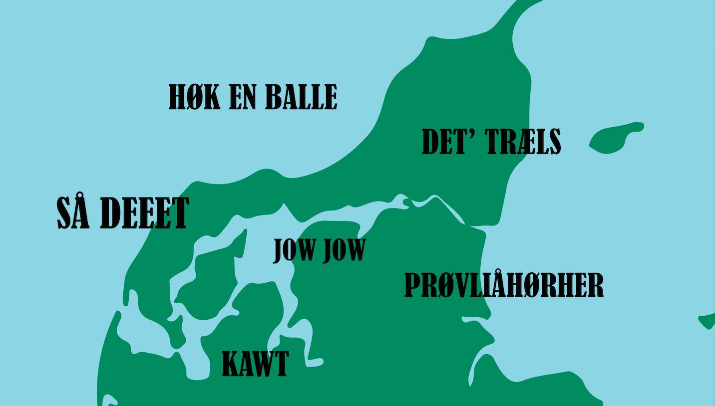 nordjyske udtryk