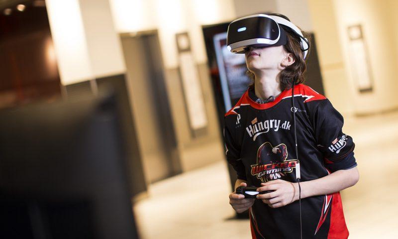 Der masser af spændende aktiviteter såsom gaming område i Friis