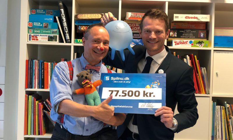 Klovnen Luici og Direktør for Spilnu.dk Mads Peter Veiby