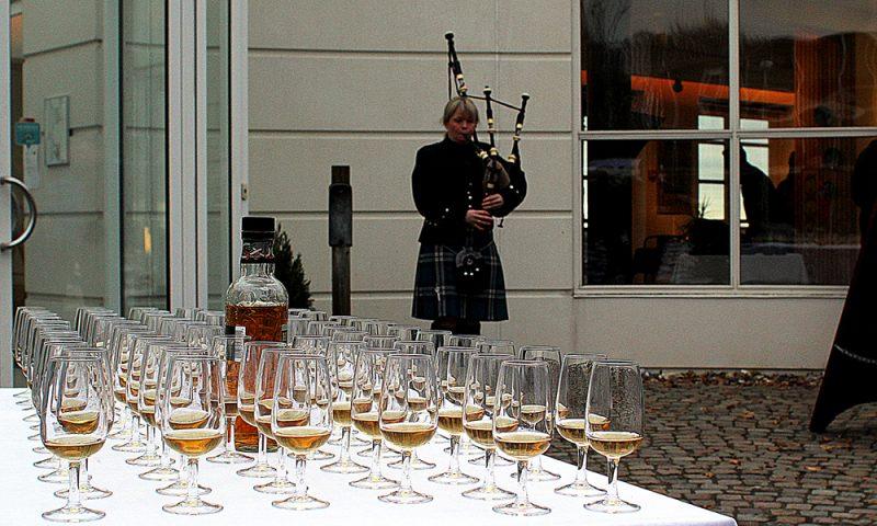 Ægte skotsk velkomst...