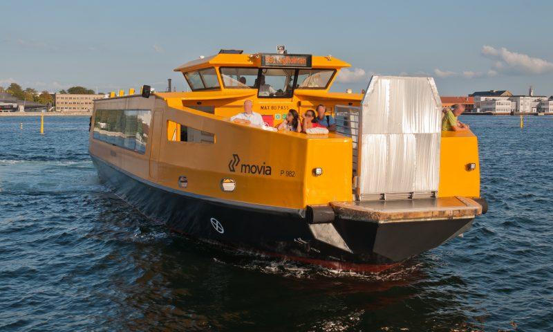 Eksempel på en havnebus/fjordbus - her fra København
