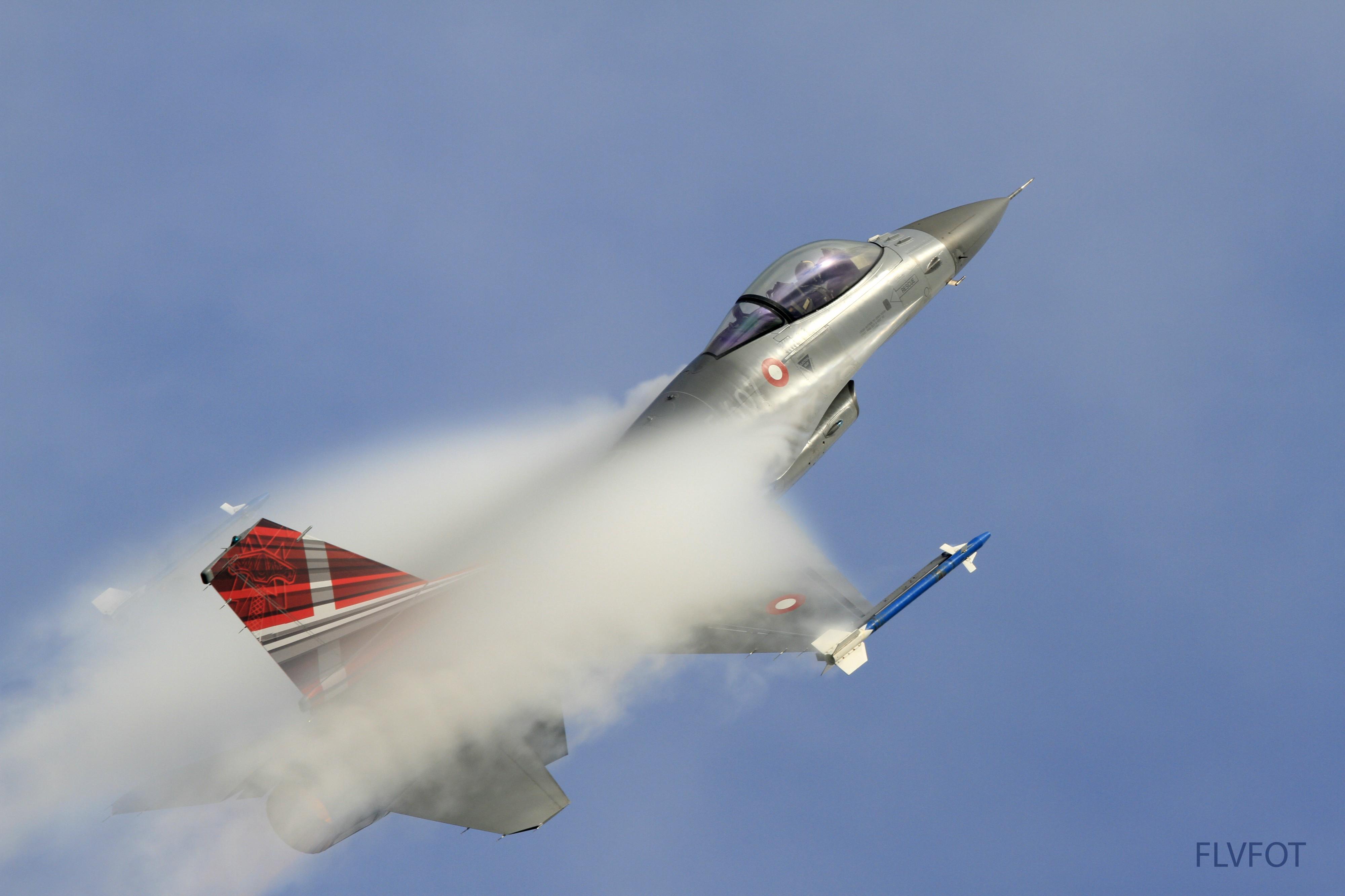 Træner til stort Air Show: På onsdag kan du se F-16 fly lave vilde tricks