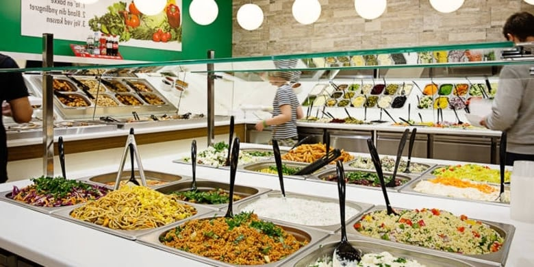 Sådan ser Det Grønne Køkken ud i Bruuns Galleri i Århus
