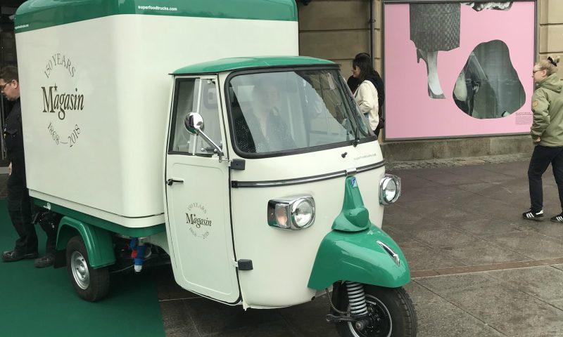 Hold øje med Magasins minibil i gadebilledet