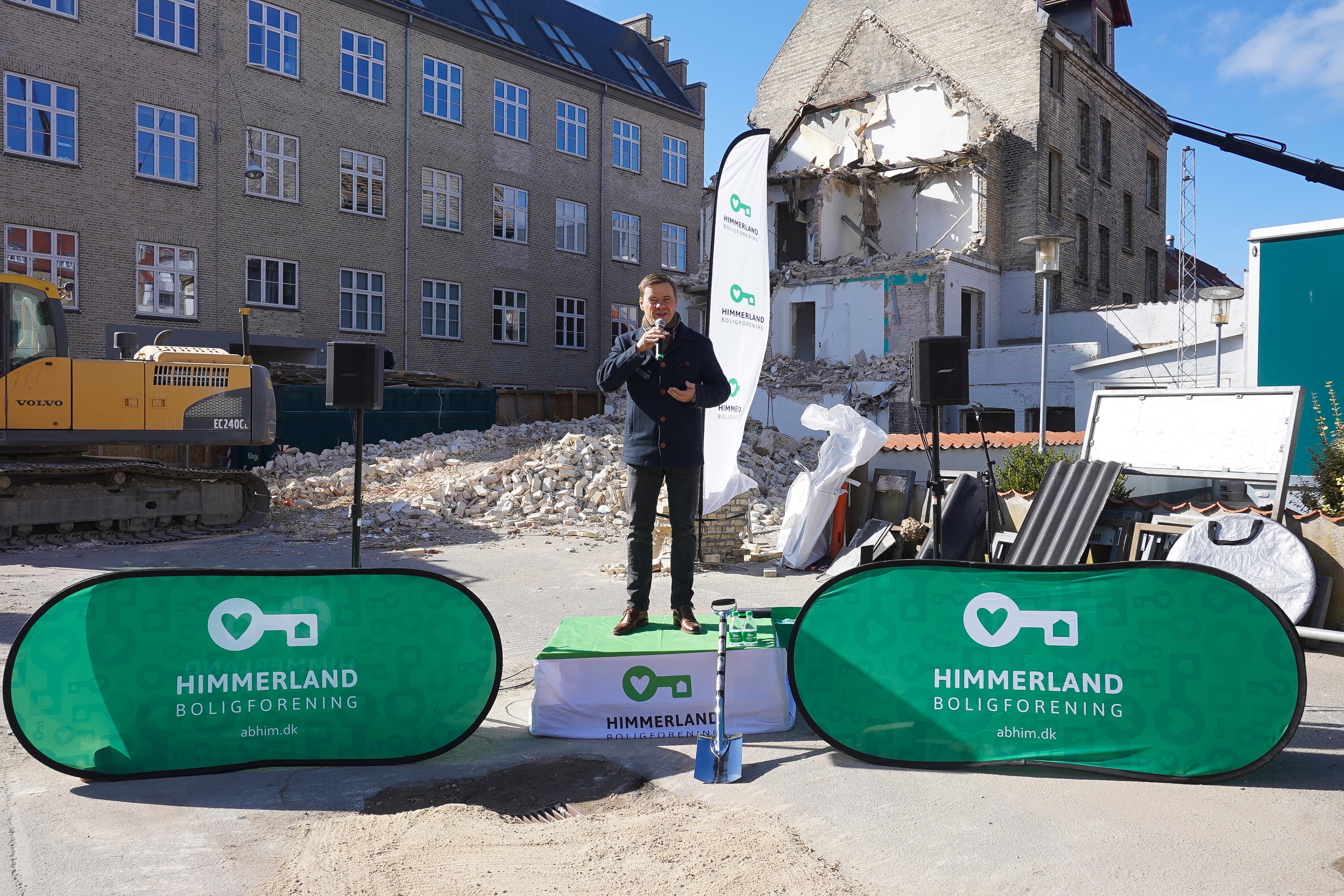 Første spadestik i Aalborgs vugge: Penthouse- og almene boliger blandes