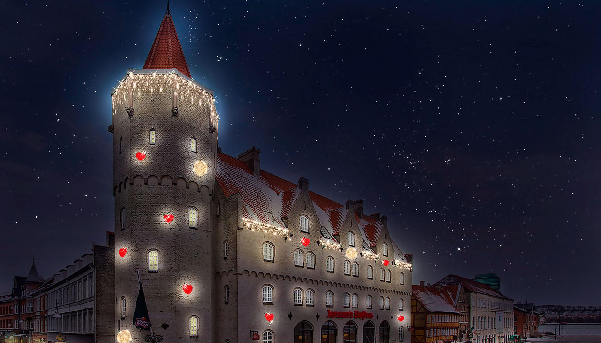 300 juletræer og masser af julelys: Juleudsmykningen i Aalborg bliver ekstra flot i år