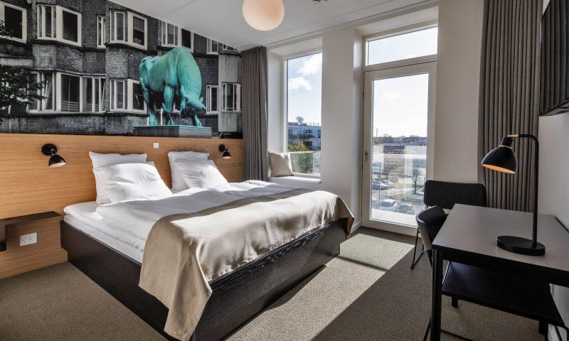 Sådan ser de nye værelser på KOMPAS Hotel ud