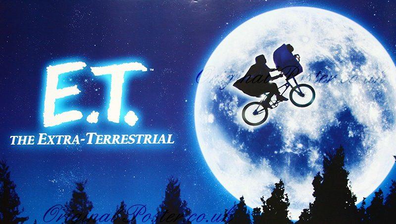 Arkivfoto: E.T. Vi garanterer ikke, at denne filmplakat er med på udsalget