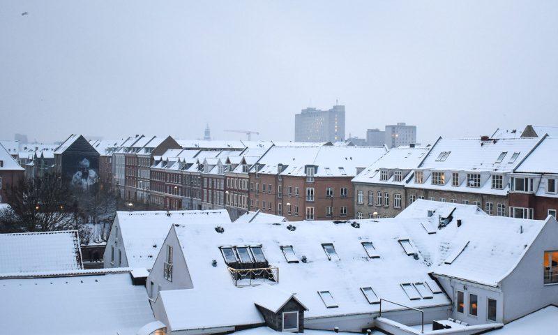 Nordjylland Dækket Af Sne Så Længe Bliver Den Liggende