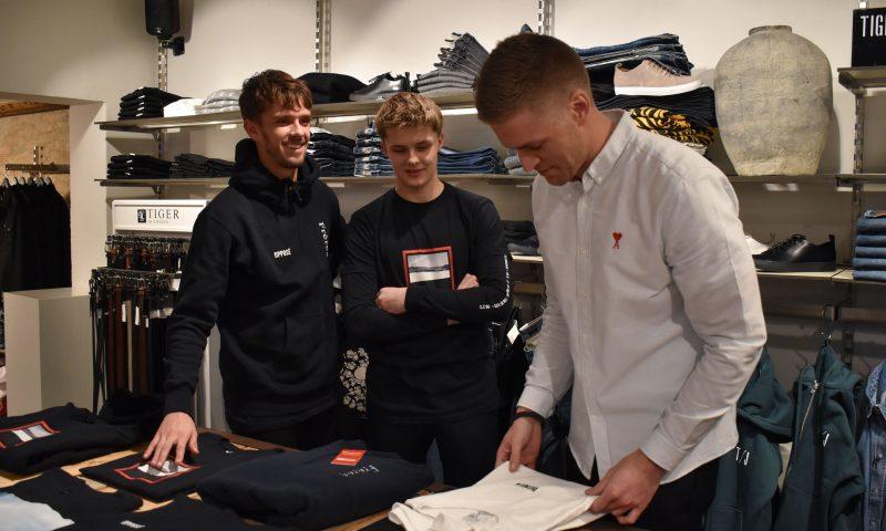 9b873fda703 AaB-profil med mange talenter: Lucas Andersen lancerer ny tøj-kollektion i  Butler