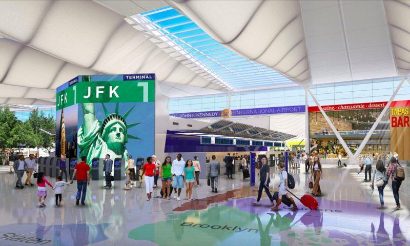 JFK Lufthavn skal moderniseres og her bliver Bliptrack vigtig
