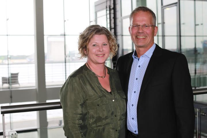 Hans og Pia Andersen fra City-Ejendomme Aalborg. Torsdag holder de reception