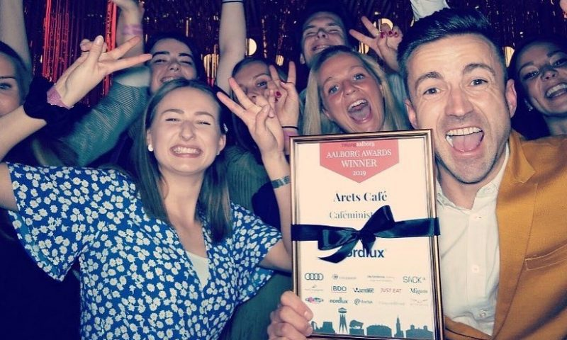 Cafeministeriet vandt Årets Café - og fandt Myselfie Booth til afterparty
