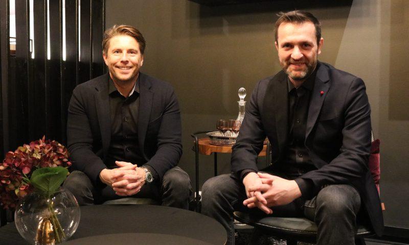 Kristoffer Glerup (tv) og Peter Rasmussen fra SACKit