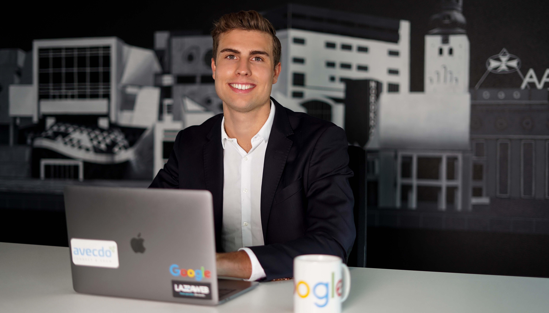 På vej mod et rekordår: Aalborg-firmaet LAZZAWEB imponerer Googles hovedkontor