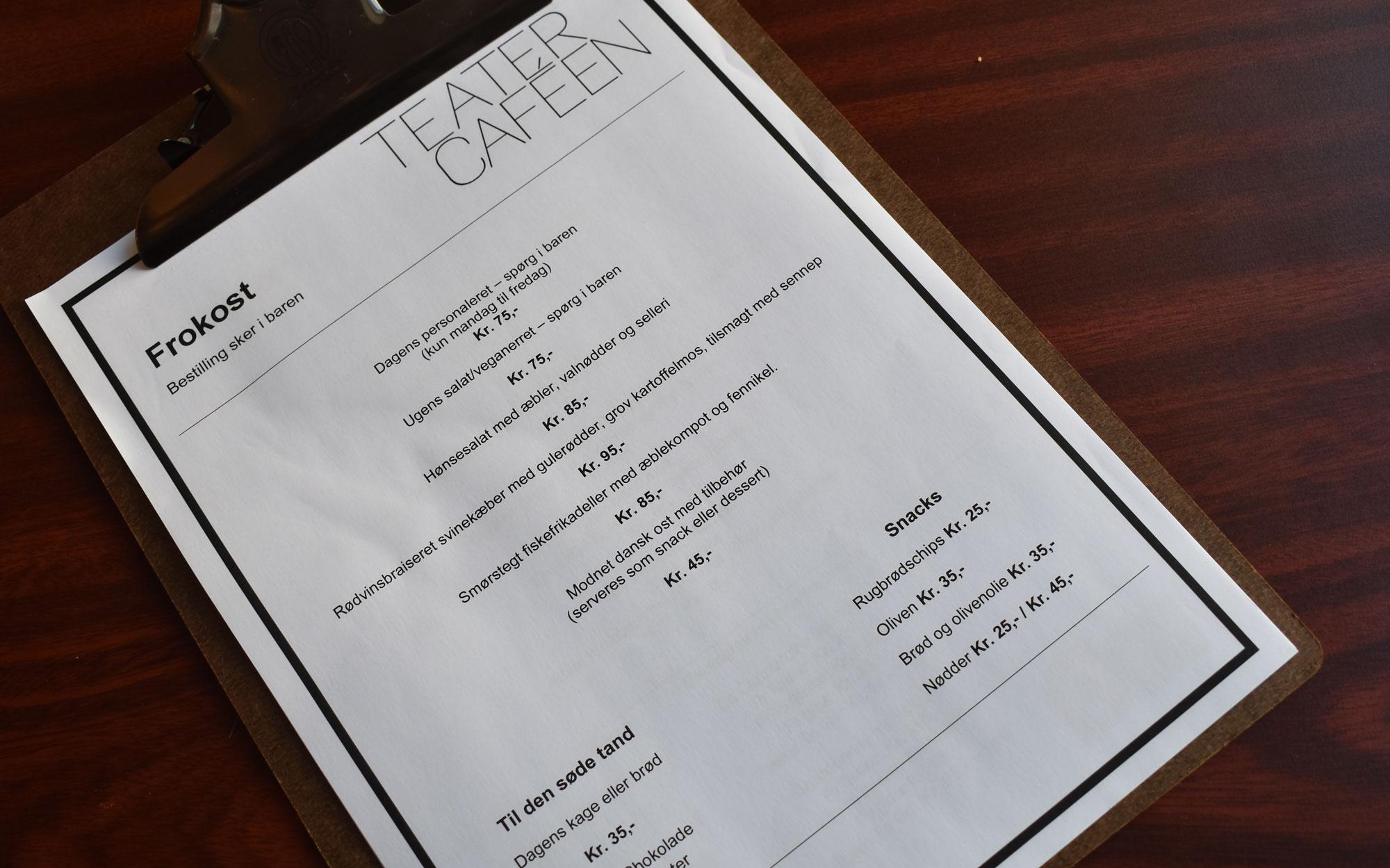 Lækker mad og gode priser: Teatercaféen bliver nyt frokoststed i Aalborg