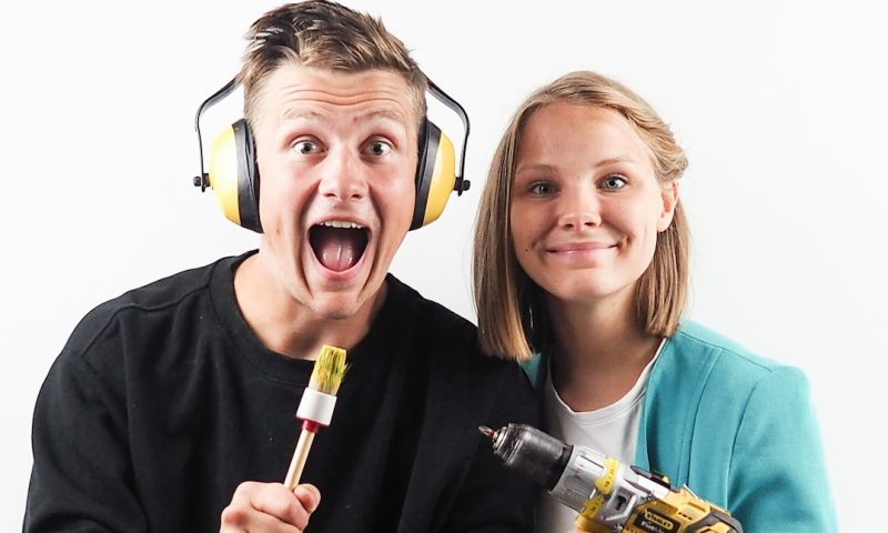 Nybygger vindere fra 2016 Lise og Michael