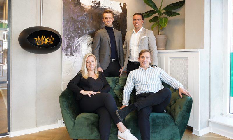 Foto: Christine Luca, MigogAalborg. Fra Venstre øverst: Nicolai Bengtsson, Tobias Nielsen, Sophie Anker, Nicklas Hamann Michaelsen.