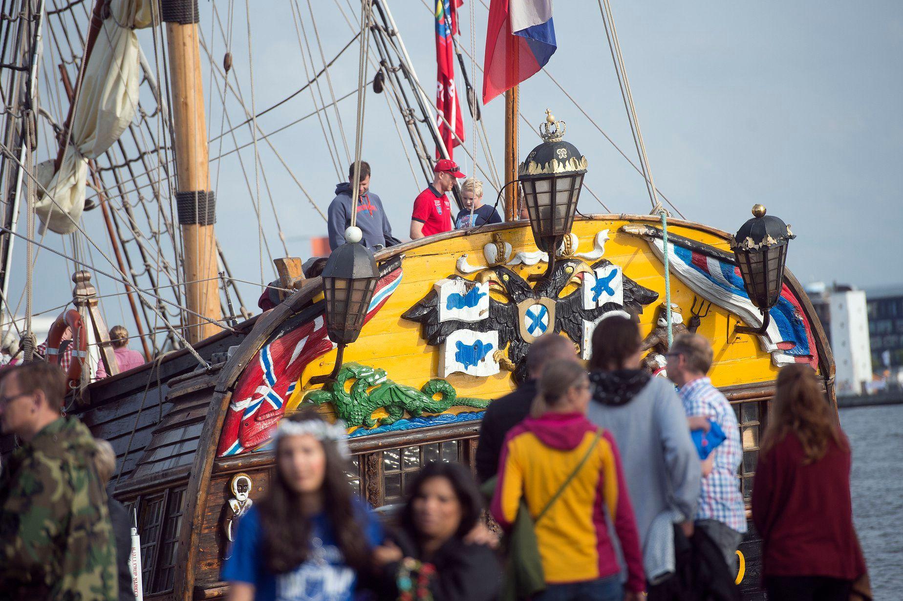 Tall Ships Race i børnehøjde: Kæmpe legeland på Stigsborg Brygge