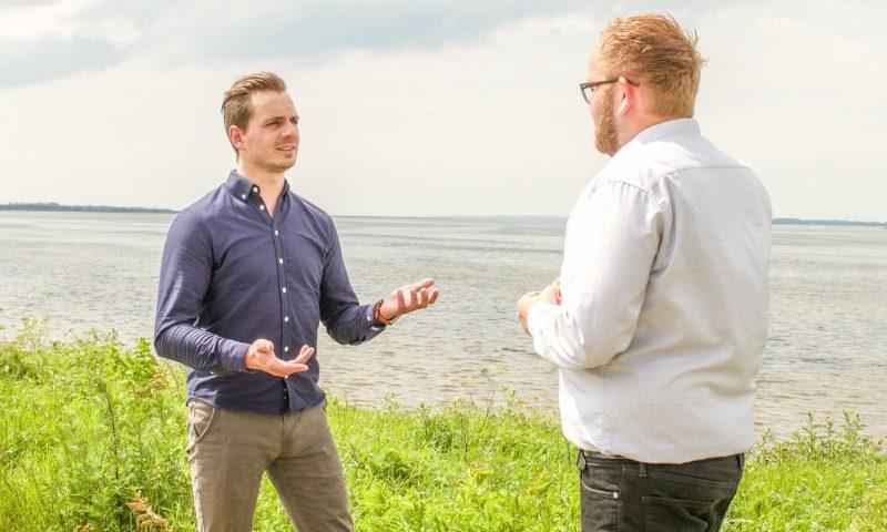 Fra venstre: Kenneth Laustsen og Mikkel Gullach