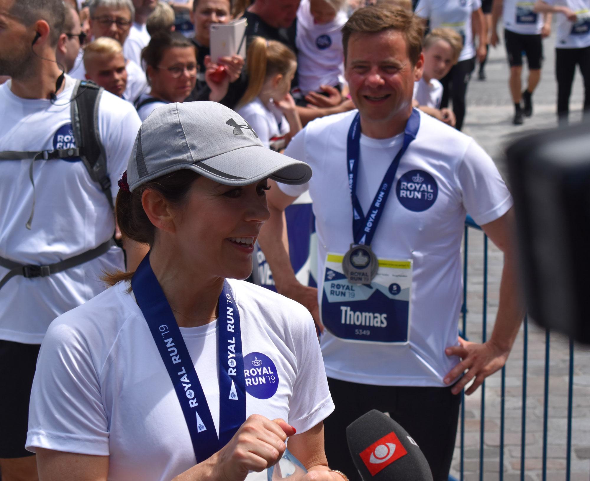 Så er det officielt: Kronprinsesse Mary løber med i Aalborg