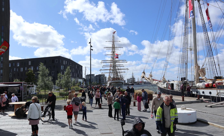 Tall Ships Races blev officielt skudt i gang: Det kan du opleve i byen i dag