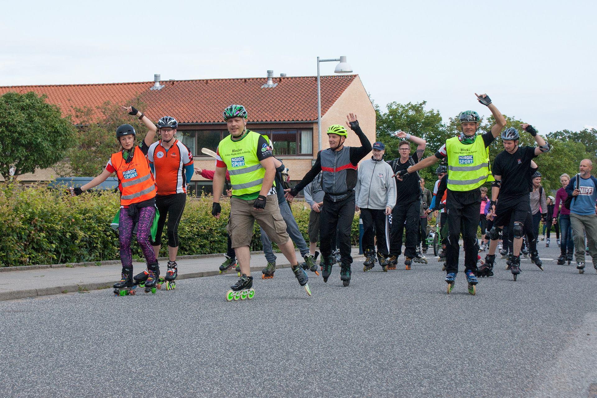 Fed rute midt i Aalborg: Vil lave Jyllands største rulleskøjteløb