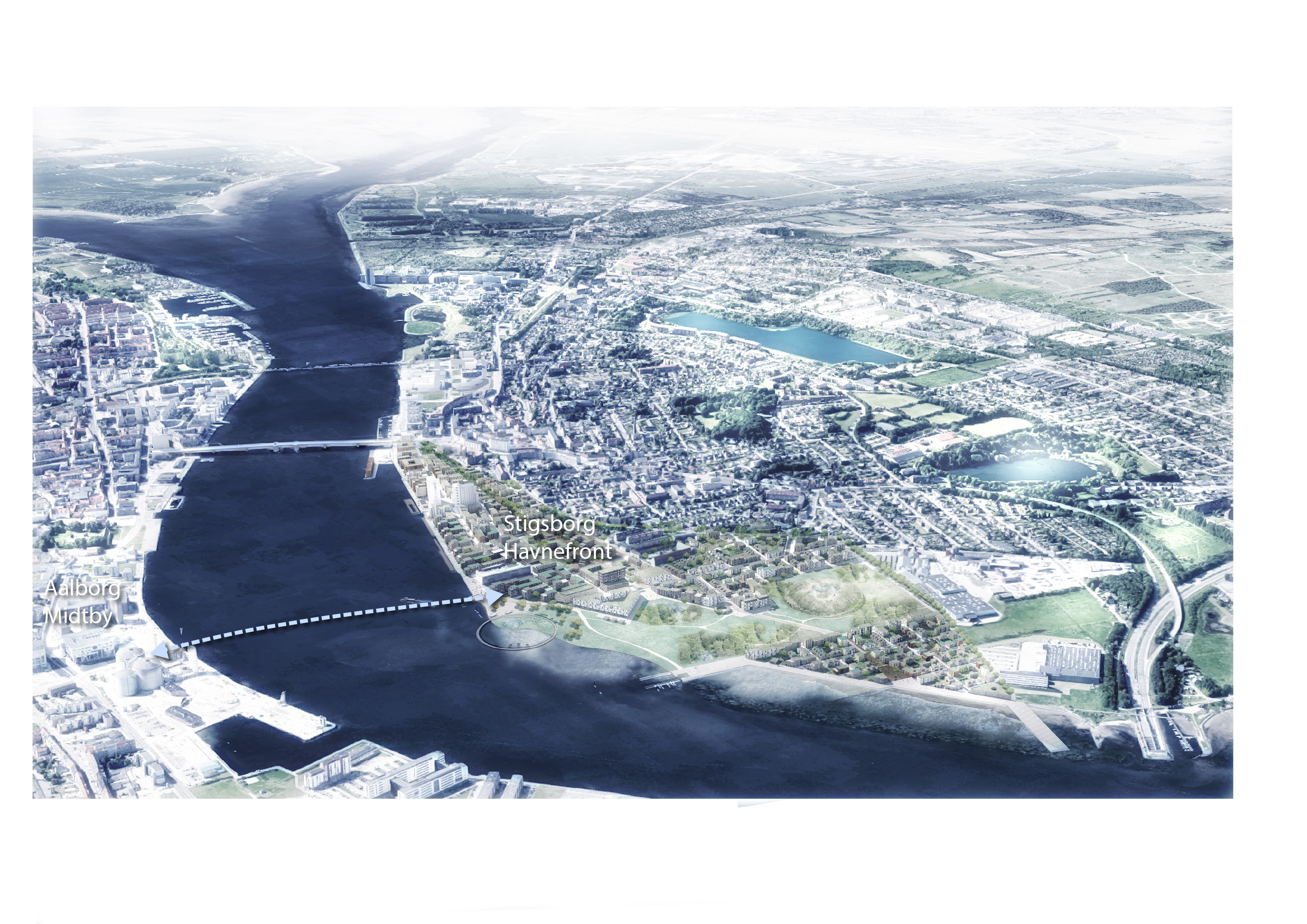Cykelbro over Limfjorden kan blive en realitet: Her er planerne