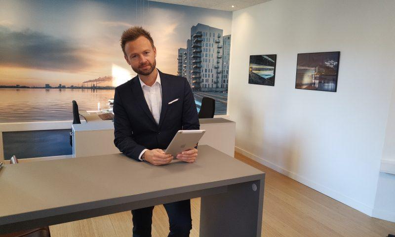 Anders Verwohlt, direktør i Valhal Connect