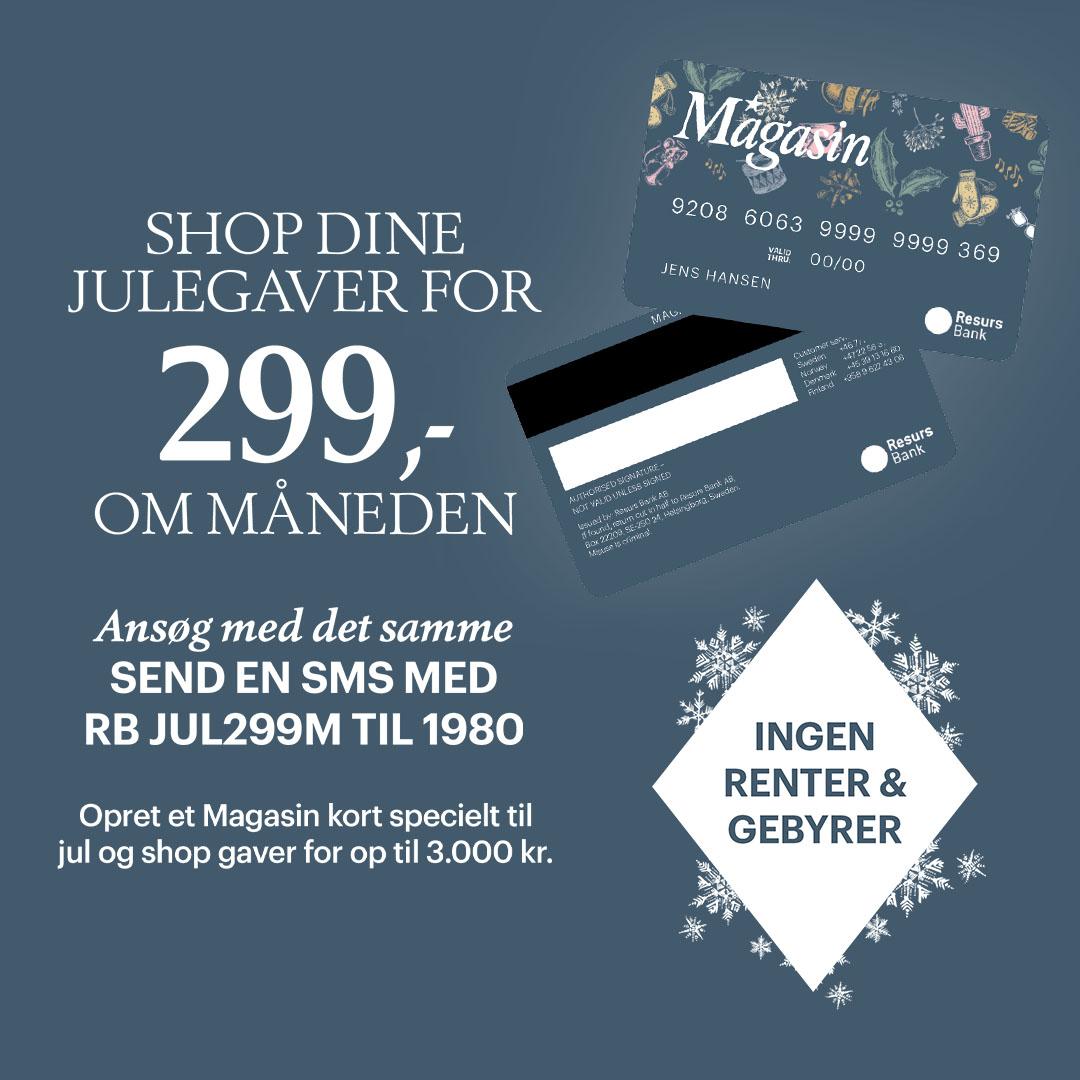 Gor Den Dyre Jul Lidt Lettere Magasin Introducerer Nyt Kort Uden
