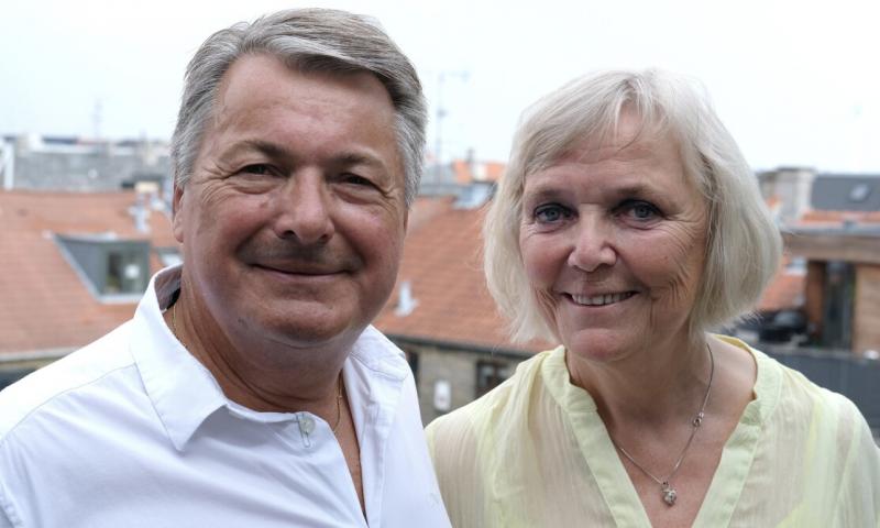 Eigild og Sonja Christensen Pressefoto: DR