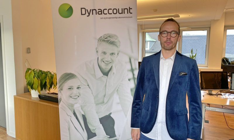 Clark Knøsen er stifter af Dynaccount