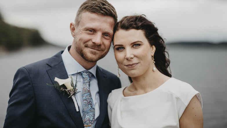 Henriette Hansen og Claus Henriksen Foto: DR