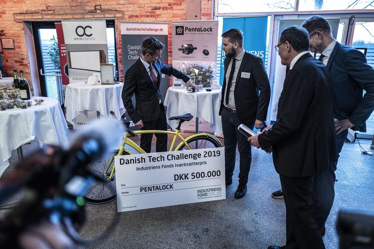 Hædret af Kronprinsen: Aalborg-virksomhed vinder Danish Tech Challenge 2019