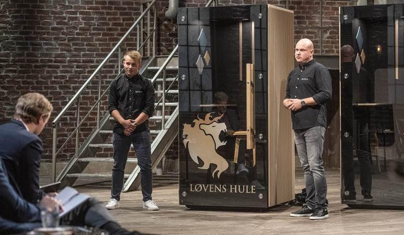 Thomas Keller og Jonas Kjemtrup i Løvens Hule med Mutebox.