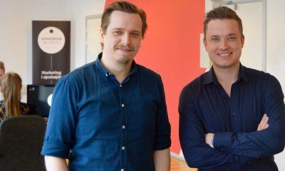 Mads Mathiasen (tv) og  Lars Marco Andersen står i spidsen for Apropos Bureau