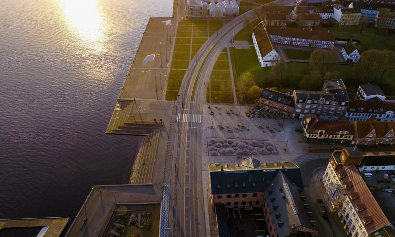 Havnefronten. Foto: Rahbek Media