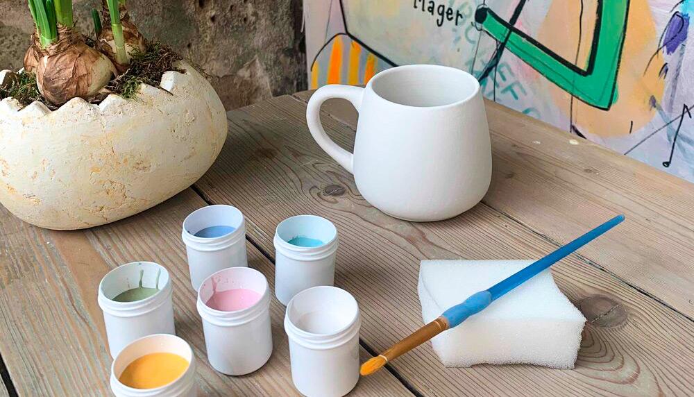 Nu kan du få keramik-café hjem i stuen: Art by Me laver særlige To Go pakker