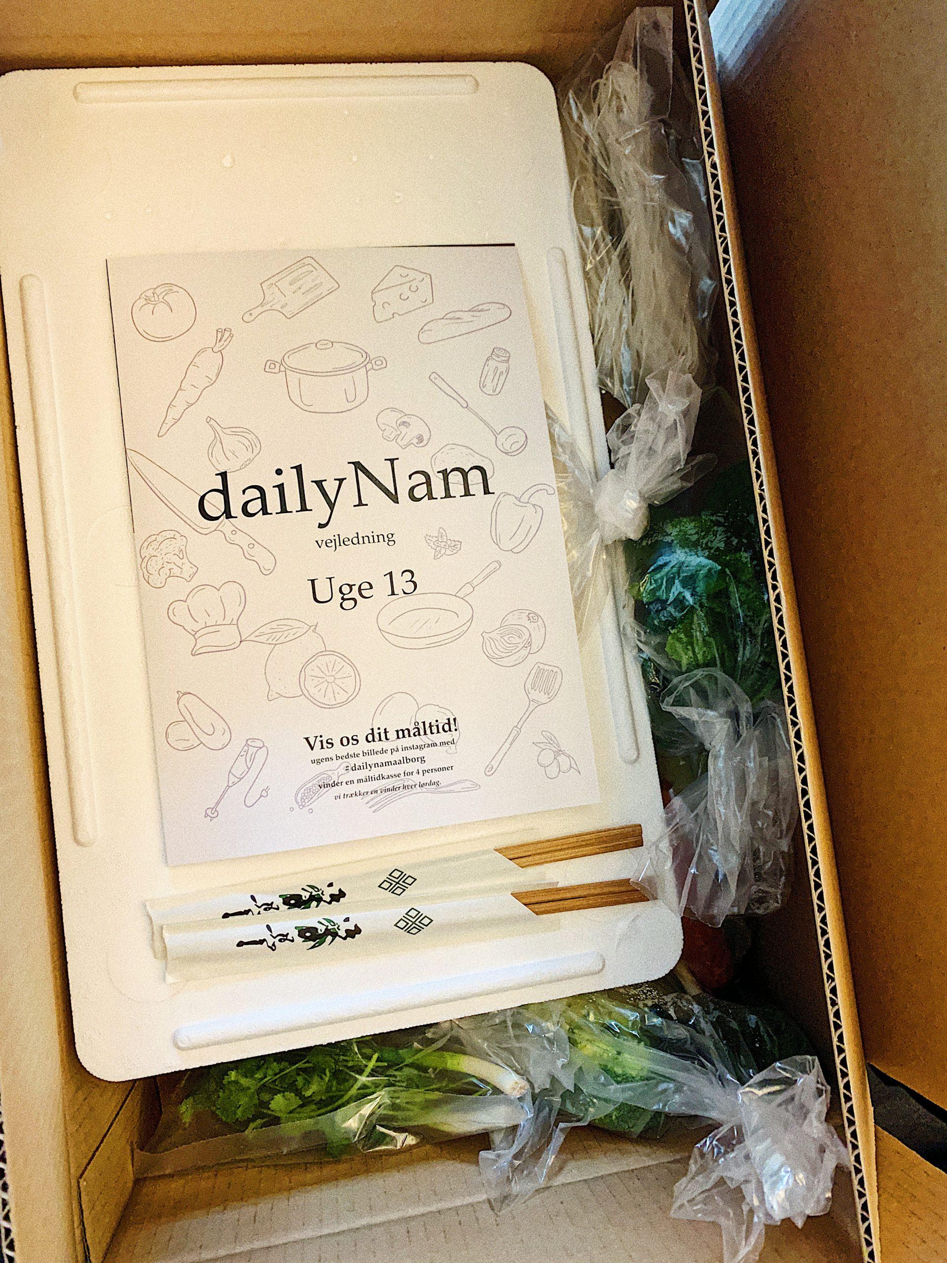 Få klaret aftensmaden: Vind en lækker måltidskasse fra Restaurant Nam