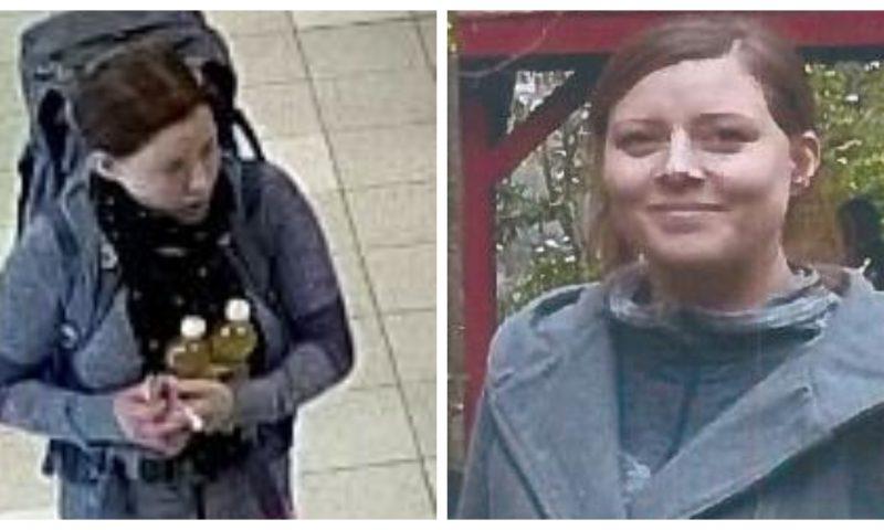 Foto-collage - billeder frigivet af Nordjyllands Politi